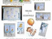"""COORDINATO BATTESIMO """"SIMBA LEONE"""" tableau coni palette confetti baby banner"""