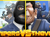 Snipers Thieves divertenti scontri multiplayer Android iOS!