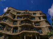 dominio delle curve. Barcellona Gaudì