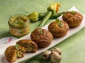 Muffin pesto alla genevese biologico Valbona zucchine
