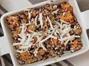 #VEGGYME Quinoa patata americana, ceci arrostiti ricotta salata