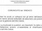 Sindaco annuncia nuova assemblea Presidente Alto Calore Servizi: un'altra presa fondelli!!!
