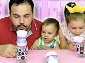 SOFFIA BICCHIERE Challenge papà Matteo blowing challenge!!!