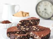 Torta cacao biscotti senza cottura