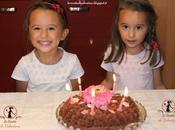 Torta cioccolato compleanno delle bimbe