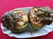 Zucchine tonde ripiene vegetariane, ricetta friggitrice aria