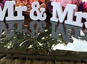 Lettere Decorative Matrimonio