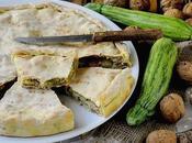 Torta Rustica Zucchine, Provola Noci