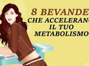 bevande naturali accelerano metabolismo tonificano figura