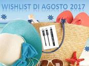Wishlist agosto 2017