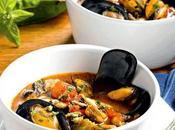 Zuppa cozze fagioli