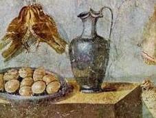 Esibire ricchezza: materiali preziosi servire cibo.