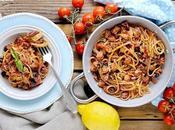Linguine Polpo, Pomodorini Olive Profumo Limone