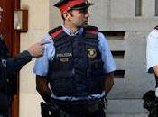 polizia spagnola arrestato persone legate governo della Catalogna
