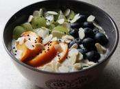 Anticipiamo Colazione Furba Fiocchi d'Avena, Chia Frutta Fresca Overnight Oats with Seeds Fresh Fruit