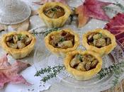 Tartellette Salate Parmigiano Funghi Porcini Robiola
