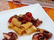 Pasta polpo olive taggiasche: ricetta, benefici menu