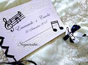 Guestbook matrimonio tema musicale Noir