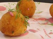 Crocchette patate pesce maionesi colorate