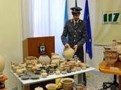 Ancora sequestro reperti archeologici detenuti illegalmente, arresti