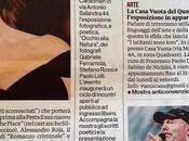 poesie Gianluca Pavia Larousse /2dR mostra Forestale Cultura Spettacoli articolo quotidiano Romanista