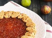 Crostata vegan confettura fichi homemade