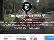 """""""The reality that Twitter account Times account"""". nuova social media policy interna York"""