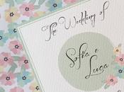 WEDDING SET: coordinato grafico Sofia Luca...floreale tradizionale tocco rustico