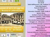 """Ottobre 2017 Pescara Giulia Madonna """"Amata tela"""" seconda edizione """"Abruzzesi ieri oggi Arte, Musica Letteratura"""""""