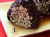 Black onigiri gamberi