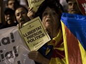 200mila persone hanno manifestato Catalogna sostegno leader indipendentisti arrestati