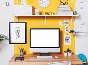Piccole idee organizzare scrivania
