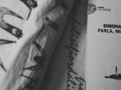 Recensione: Parla, paura, Simona Vinci