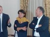 senatore Lumia l'assessore Bosco ieri Vittoria (RG) convention elettorale Concetta Fiore (Micari Presidente)