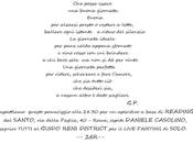 Poesia aperitivo, pittura cena Style