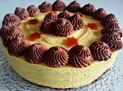 Torta Zabaione Chantilly, Namelaka Fondente profumo d'Arancia