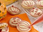 Halloween idee ricette festa speciale: Biscotti zucca della strega.