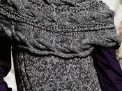 Moda donna ferri: maglione invernale sprone trecce