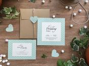 """WEDDING DECOR: partecipazioni matrimonio Gaia Marco. Stile informale elegante loro """"un-conventional wedding""""."""