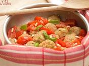 Polpette alle zucchine pomodorini basilico