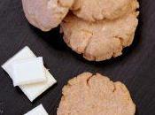 Biscotti burro salato cioccolato bianco