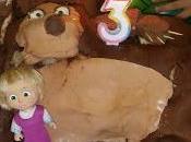 Torta masha orso