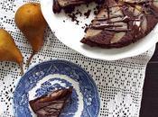 Torta rovesciata pere cacao (gluten sugar free)