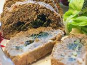 Polpettone lenticchie spinaci