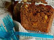 Plumcake antispreco pane raffermo, amaretti cioccolato