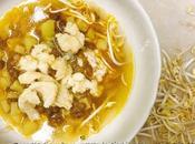 Zuppetta rombo patate, lenticchie germogli soja