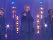 "protagonisti Stranger Things cantano ""The Late Show"""