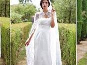 abiti sposa ecologici naturali della collezione 2018 dello stilista Alessandro Tosetti