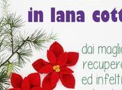 Crea stella Natale lana cotta maglioni riciclati