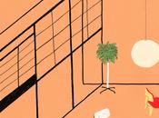 ILLUSTRAZIONE: interni disegnati Lianne Nixon
